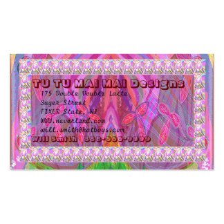 TU MAI Belly Dancer  - click to enlarge view Double-Sided Standard Business Cards (Pack Of 100)