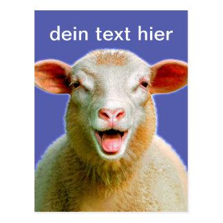 tu text en esta tarjeta postal