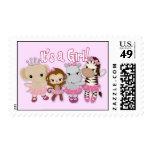 Tu Tu Cute MONKEY GIRL postage stamp TTC