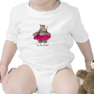 Tu-Tu Cute! Rhino Baby T-Shirt White