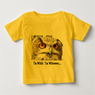 Tu Whit Tu Whoo shirt