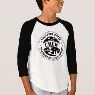 Tualatin Paddler Kid's Baseball Shirt