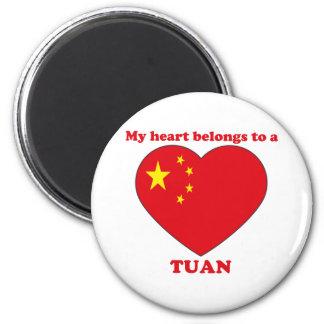 Tuan 2 Inch Round Magnet