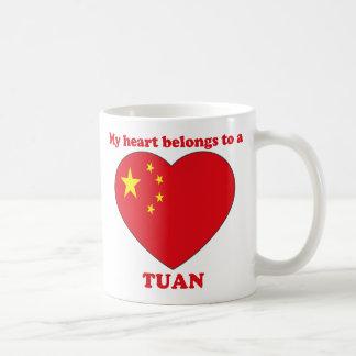 Tuan Classic White Coffee Mug
