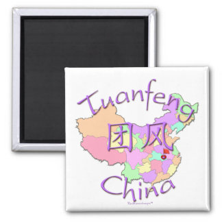 Tuanfeng China 2 Inch Square Magnet