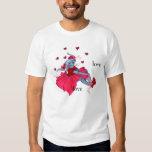 Tu'ar-tsen Ada-ada (Hearts puppy shirt) Tees