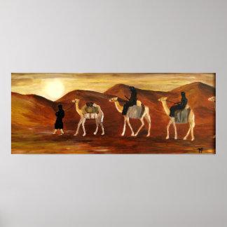 Tuareg Caravan - Poster