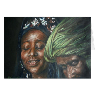 Tuareg Couple Card