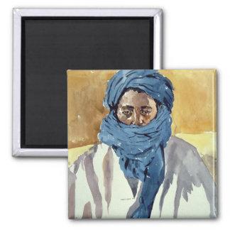 Tuareg Tribesman Timbuctoo 1991 Magnet