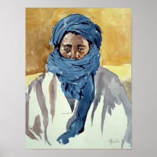 Tuareg Tribesman Timbuctoo 1991 Poster