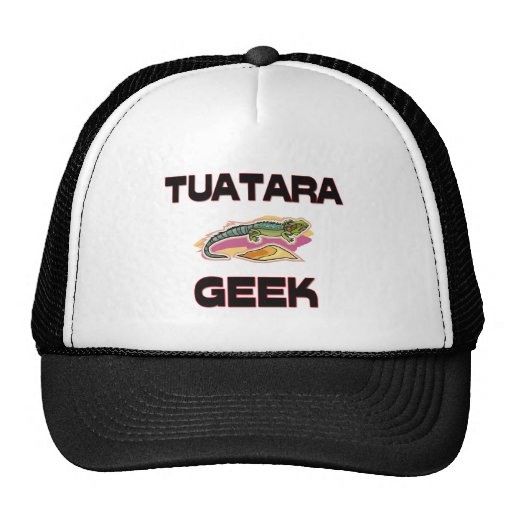 Tuatara Geek Trucker Hat