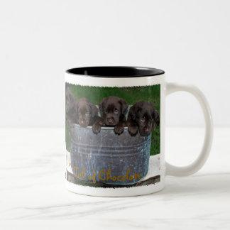 Tub of Chocolate mug