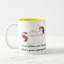 TUB Superpower Two-Tone Coffee Mug