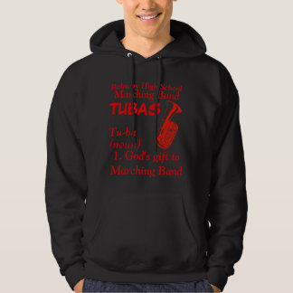 Tuba01-08, Rahway High School, Marching Band, T... Hoodie