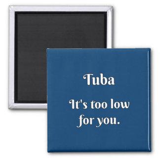 Tuba Attitude! Refrigerator Magnet