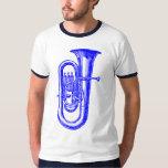 Tuba azul polera