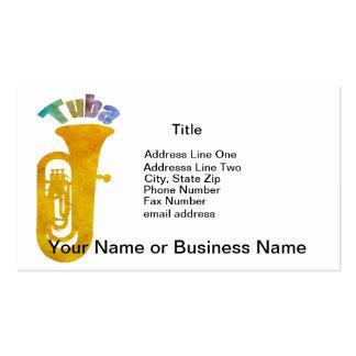 Tuba! Business Card