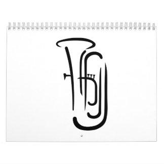 Tuba Calendar