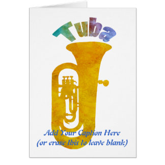 Tuba! Card