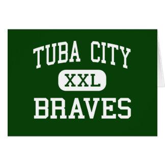 Tuba City - Braves - Junior - Tuba City Arizona Card