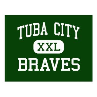 Tuba City - Braves - Junior - Tuba City Arizona Postcard