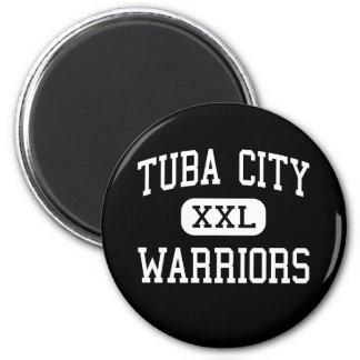 Tuba City - Warriors - High - Tuba City Arizona 2 Inch Round Magnet