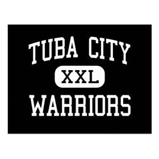 Tuba City - Warriors - High - Tuba City Arizona Postcard