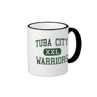 Tuba City - Warriors - High - Tuba City Arizona Ringer Coffee Mug