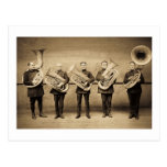 Tuba Cops (Sepia) Postcard