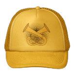 Tuba Crossbones Trucker Hat
