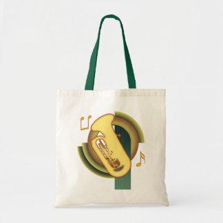 Tuba Deco Tote Bag