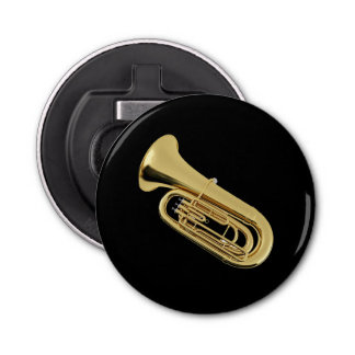 """Tuba"" design gifts and products Bottle Opener"