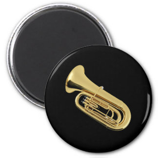 """""""Tuba"""" design gifts and products Refrigerator Magnets"""