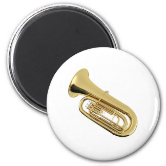 """""""Tuba"""" design gifts and products Fridge Magnet"""