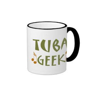 Tuba Geek Music Quote Funny Musical Gift Ringer Mug