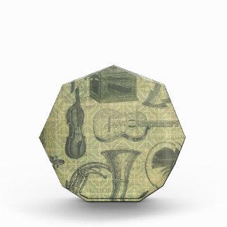 Tuba Gramophone Acrylic Award