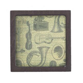 Tuba Gramophone Jewelry Box