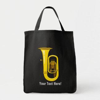 Tuba Grocery Tote Bag