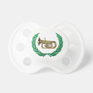 tuba in green pacifier