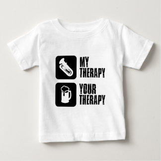 tuba is my therapy baby T-Shirt