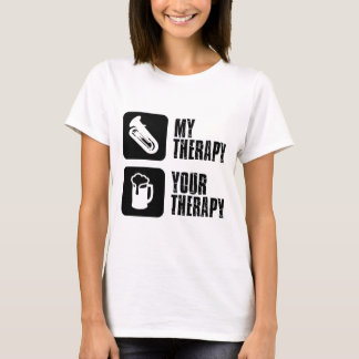 tuba is my therapy T-Shirt