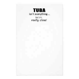 Tuba Isn't Everything Stationery Paper