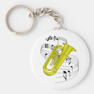 Tuba Key Chains