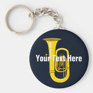 Tuba Keychain