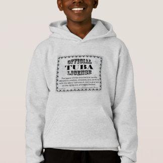 Tuba License Hoodie
