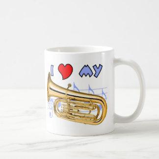 Tuba Love Coffee Mugs