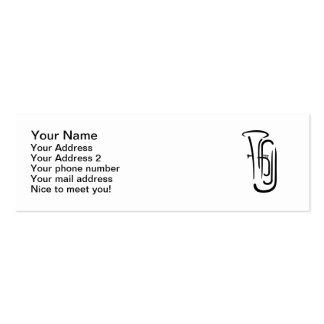 Tuba Mini Business Card