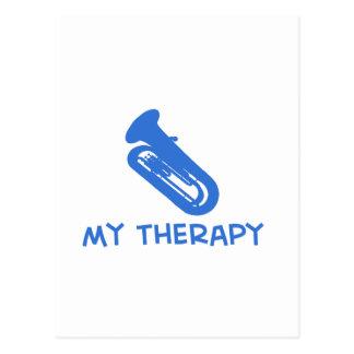 Tuba mis diseños de la terapia tarjetas postales