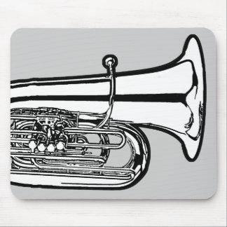 Tuba Mouse Pad