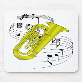 Tuba Mouse Mats